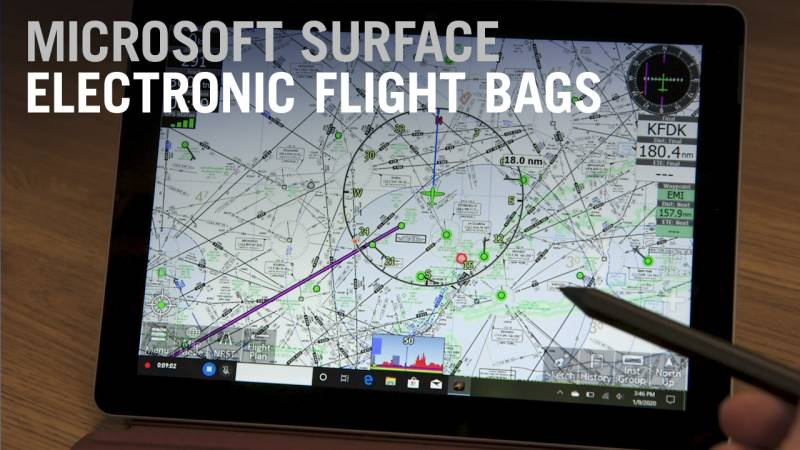 Aviation Electronic Flight Bag Apps for the Microsoft Surface Tablet - AIN