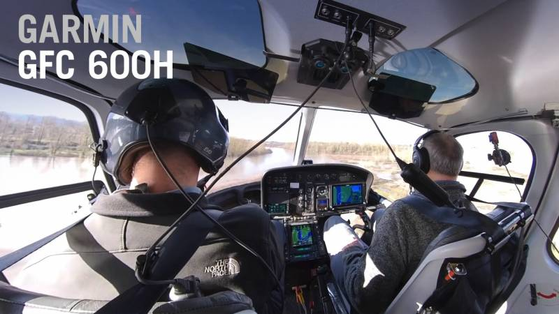 How Garmin's GFC 600H Flight Control System Makes Flying a Helicopter a lot Easier - AIN