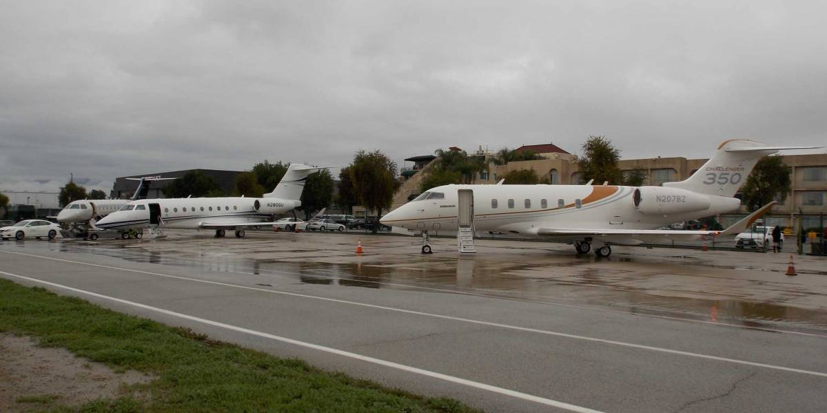 Gulfstream, Embraer and Bombardier business jets