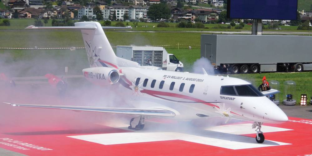 Pilatus rolls out strong selling pc 24 jet business aviation news pilatus rolls out strong selling pc 24 jet business aviation news aviation international news fandeluxe Image collections