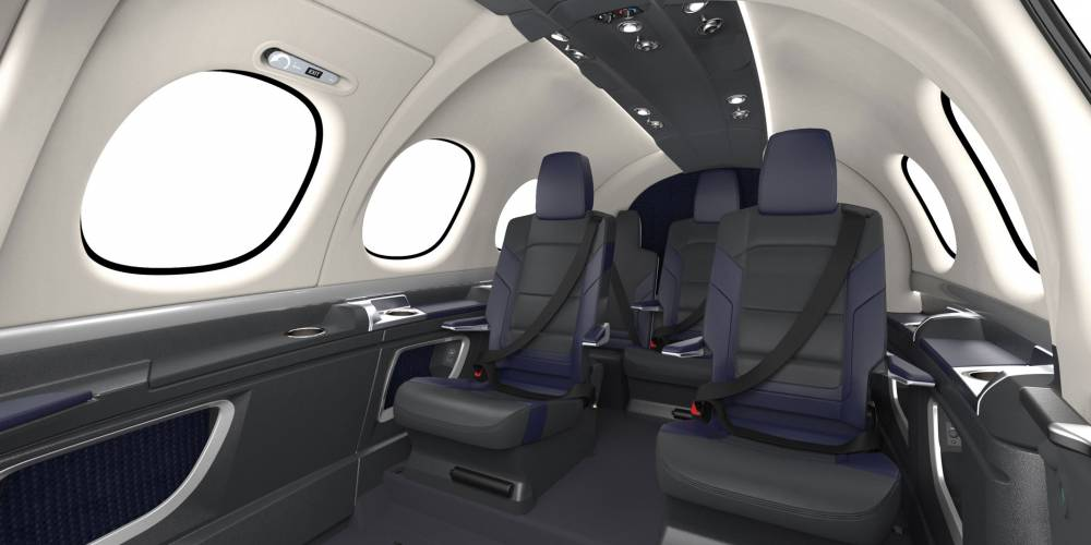 Cirrus Debuts Final Interior For Vision Jet Business