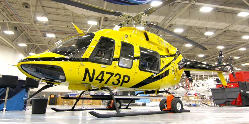 Wysong Completes Two Bell 407gxs For Phi Air Medical
