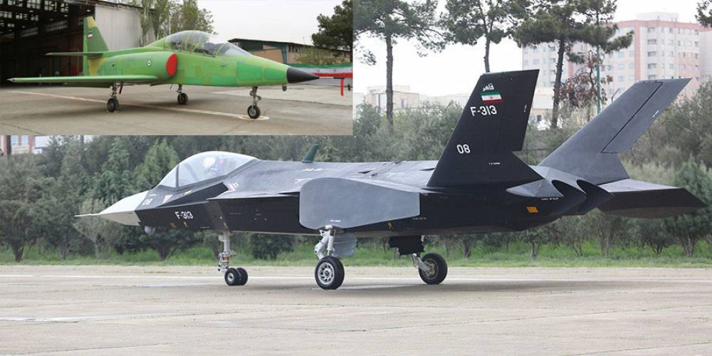 Iran Shows 'Stealth' Fighter, Jet Trainer and Missiles