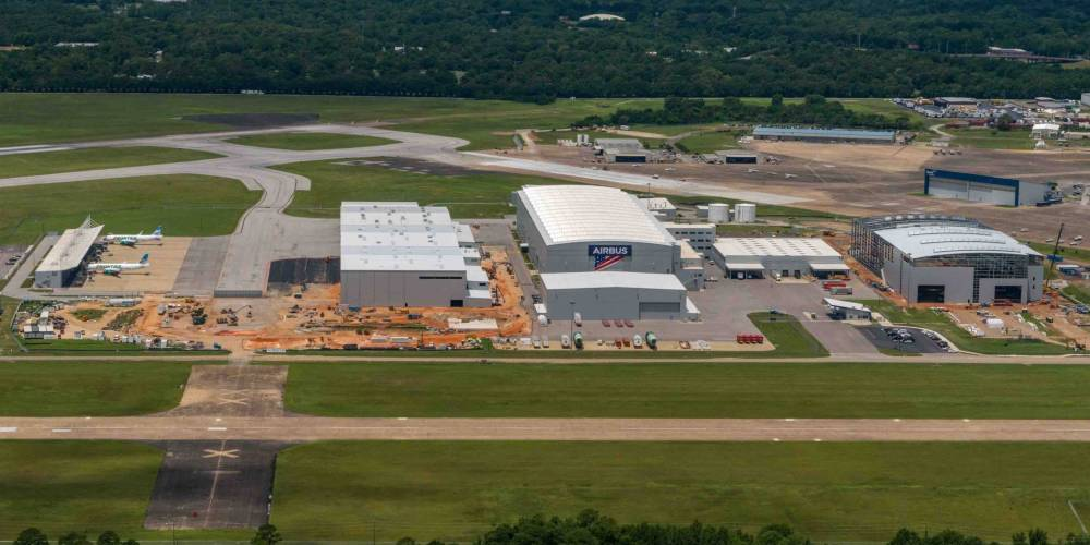 Airbus Starts Building First A220s in Mobile | Air Transport News