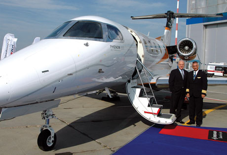 Lineage will head off russian challengers says embraer for Large cabin business jets