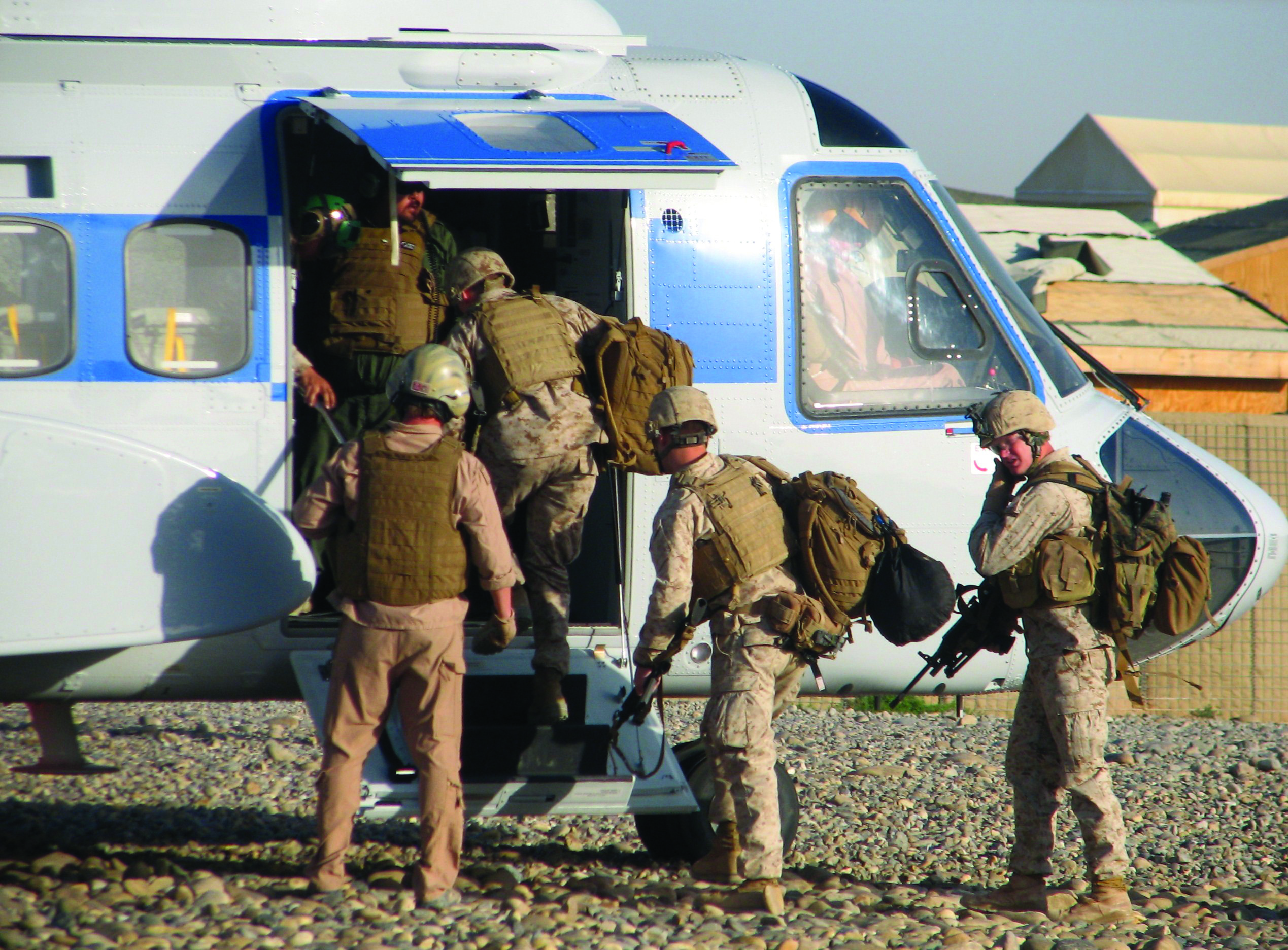 DOD Contracts Keep U S  Helicopter Operators Busy in