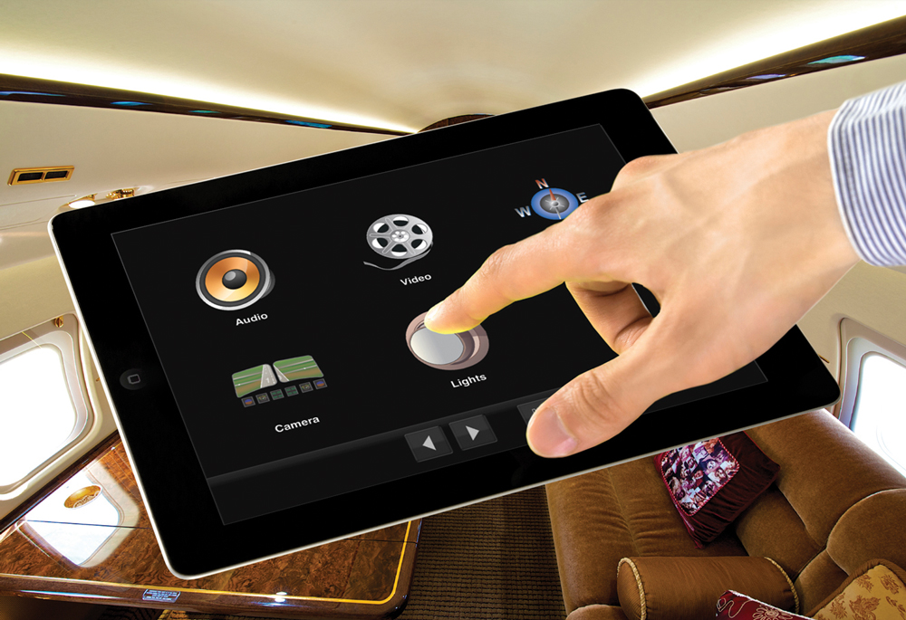 Flight Display Systems Presents Total Cabin Control