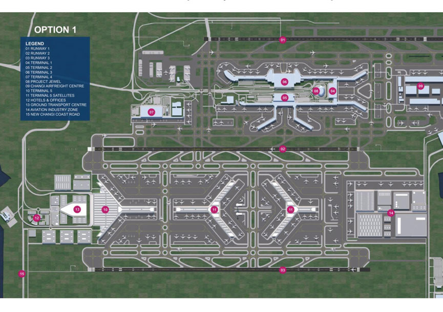 Expansion set to double changi airport capacity air transport news aviation international news Airport planning and design course