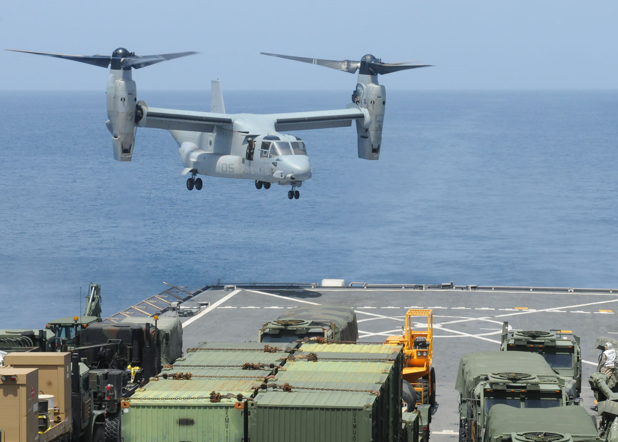 U.S. Navy Maps V-22 Future, Plans Carrier Delivery Variant ...