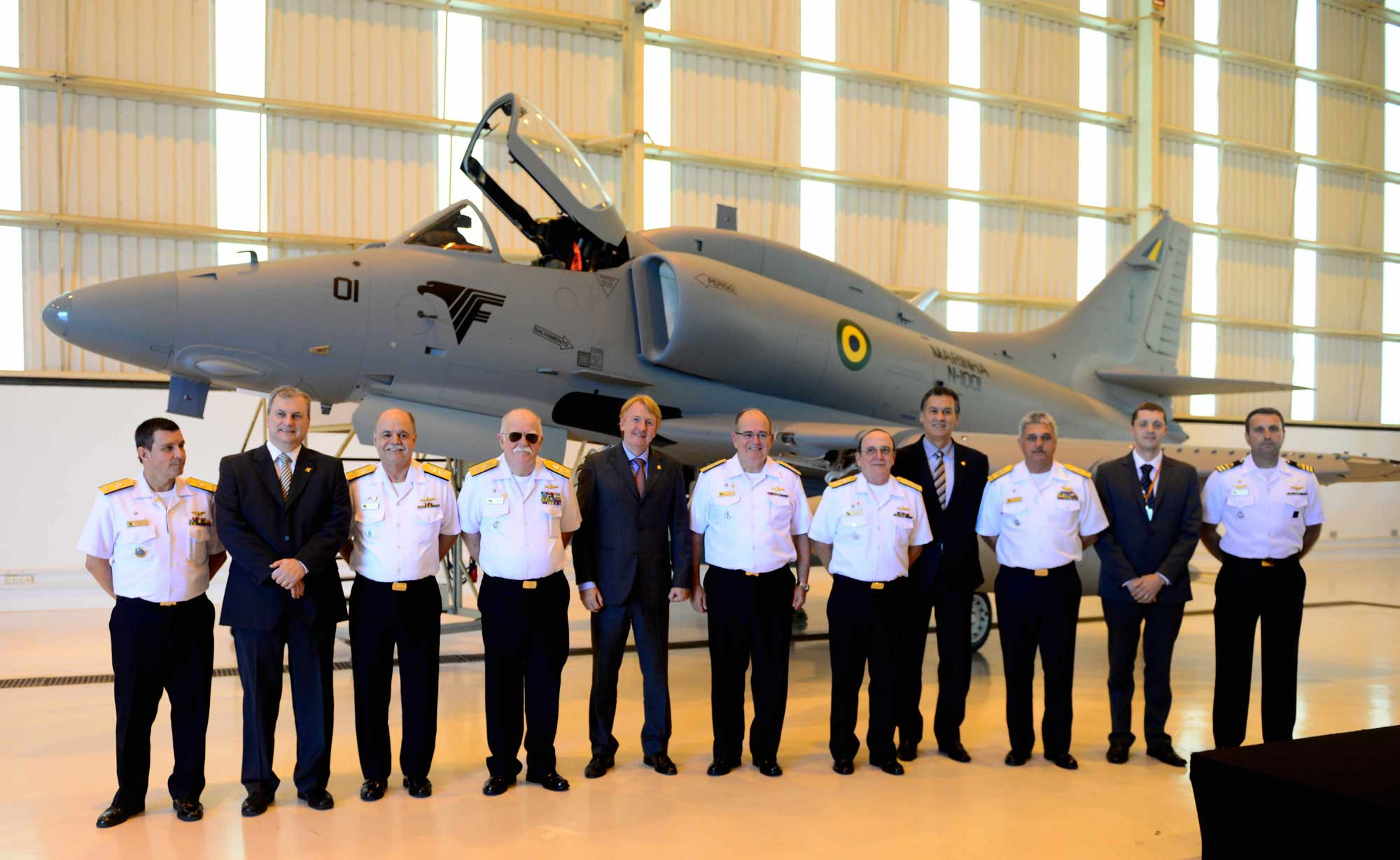 Embraer Delivers First Upgraded A-4 Skyhawk to Brazilian