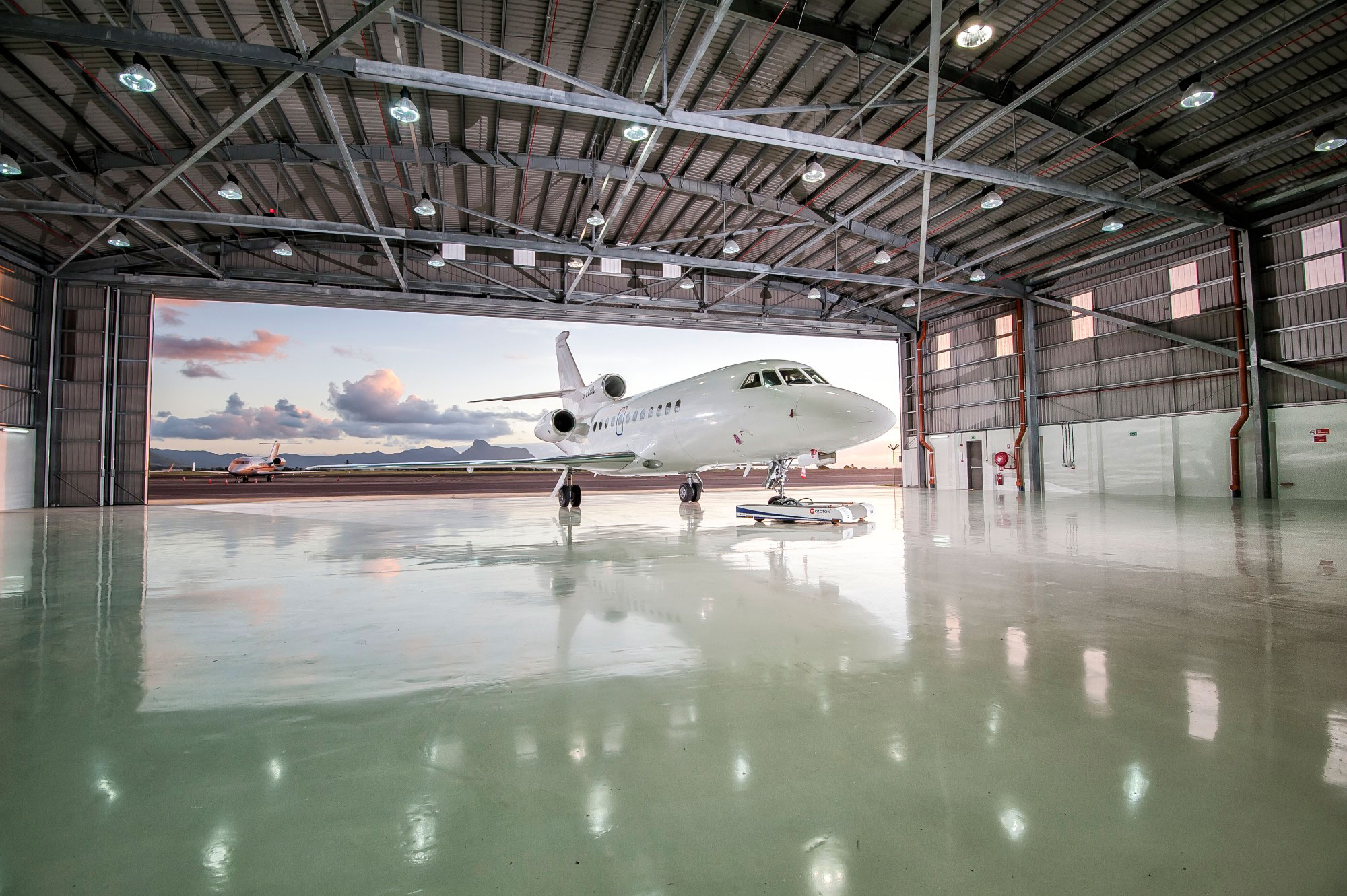 Yu Lounge S New Private Aviation Hangar Opens In Africa