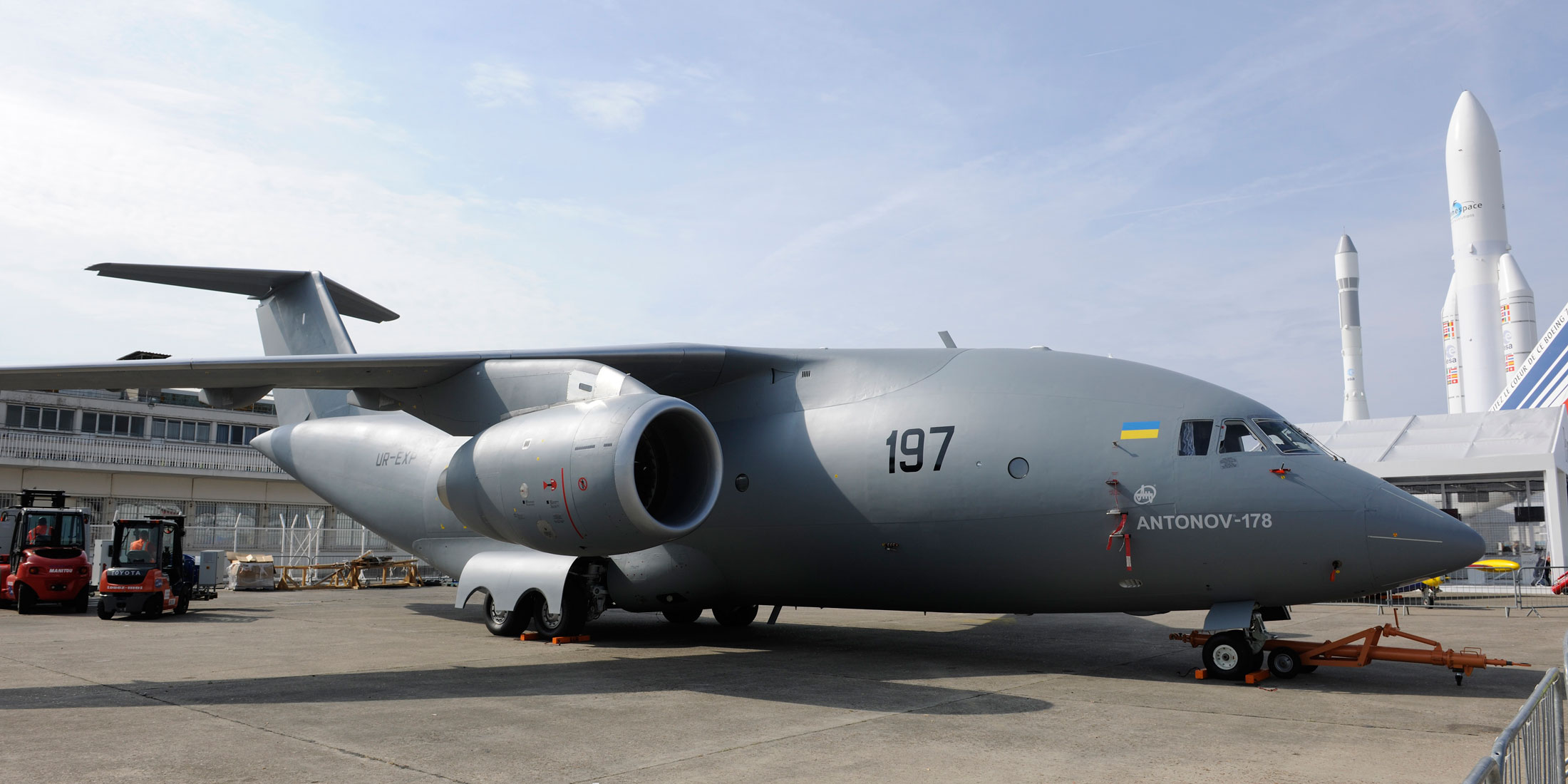 Antonov Steps Up Plans For An 188 Airlifter Air