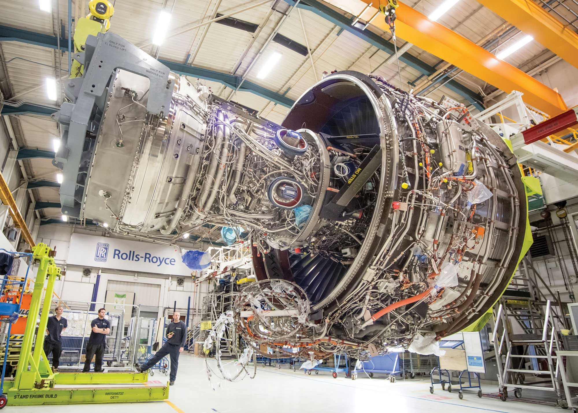 Rolls Preps A350 1000 S Big Trent Xwb 97 For Tests On A380
