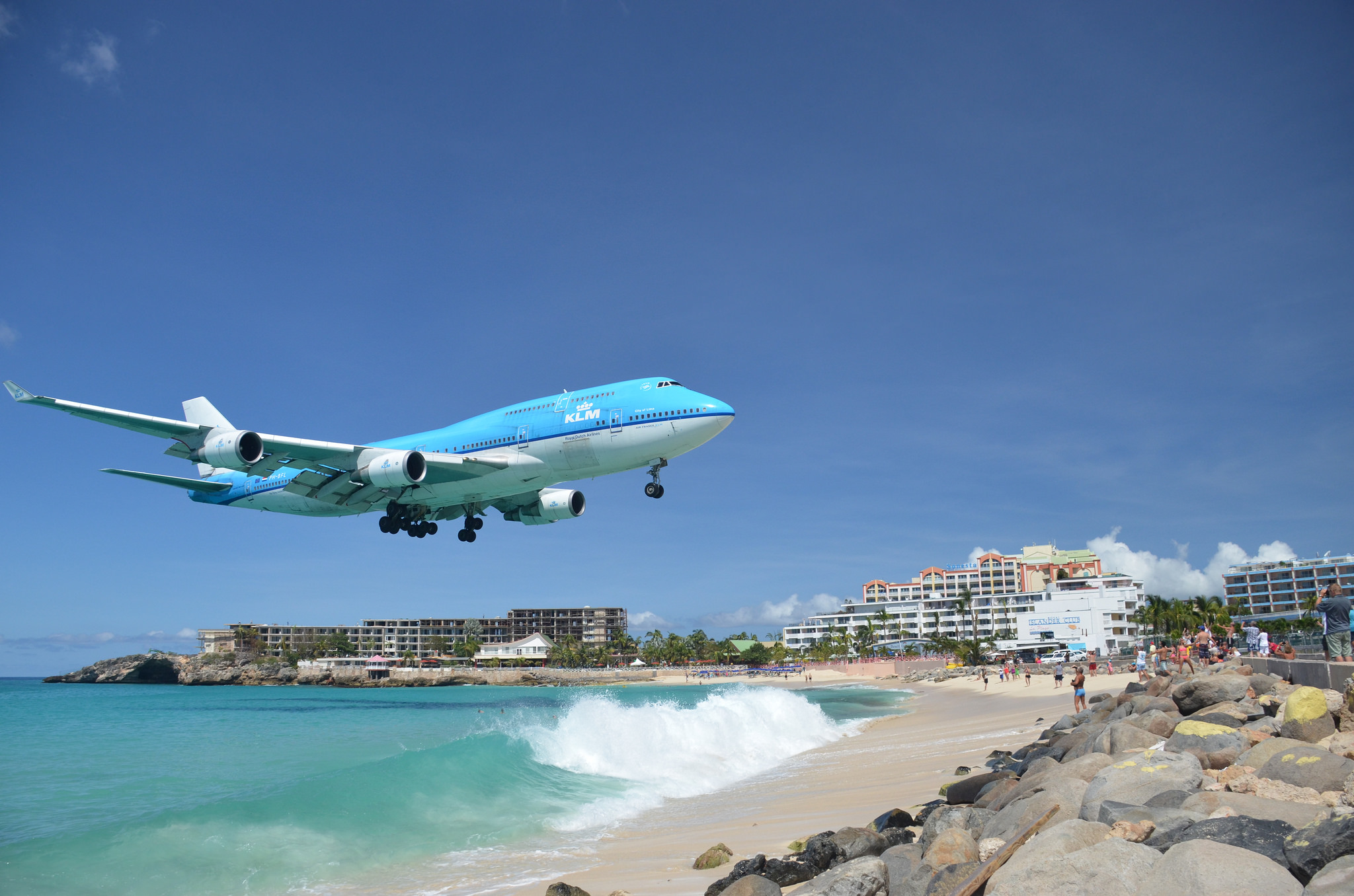 st martin airport - HD 1600×1000