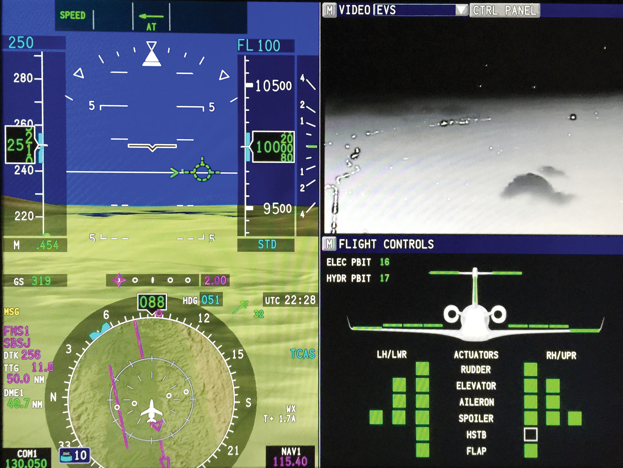Hands On Hud And Fly By Wire Enhances Legacy 500