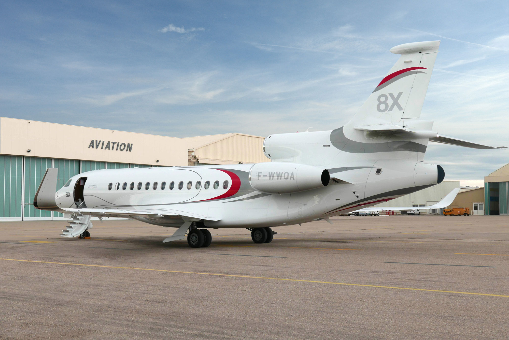 Dassault Begins Completions On Initial Falcon 8x Jets