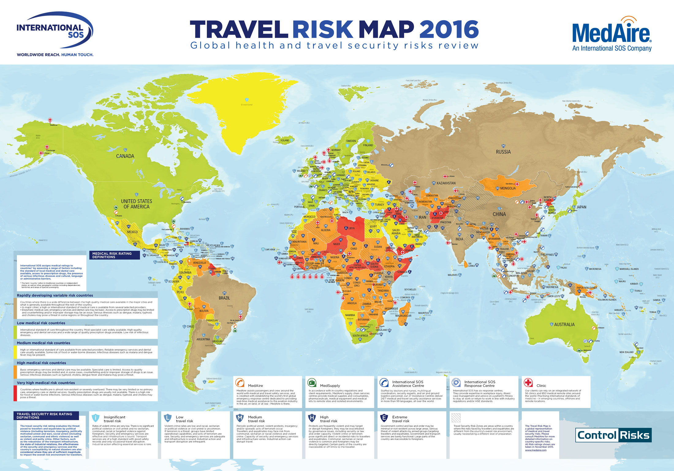 Medaire upgrades annual global map with safety concerns business medaire upgrades annual global map with safety concerns gumiabroncs Images
