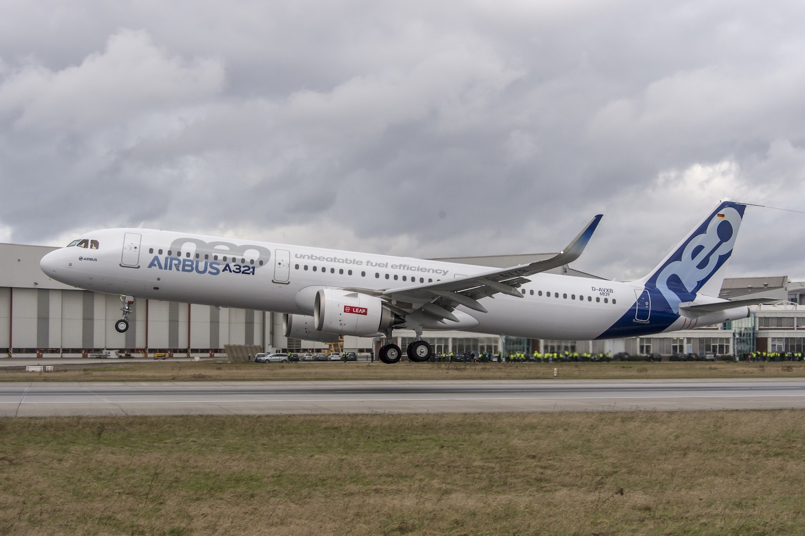 Airbus A321neo Flies For The First Time Air Transport