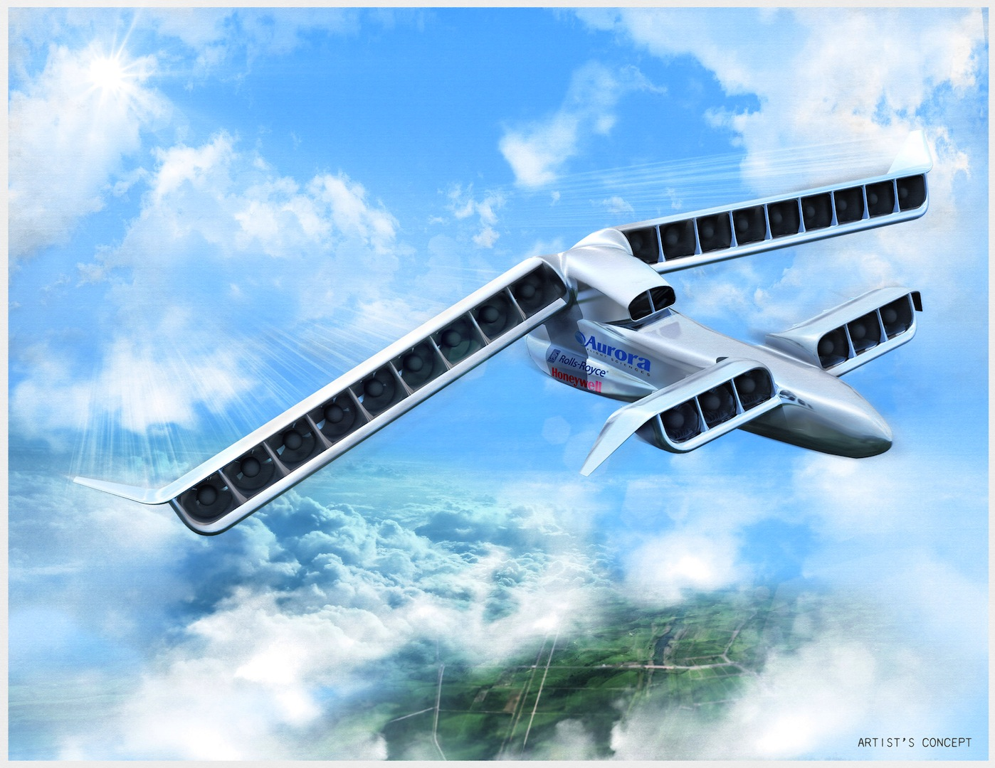 Aurora Wins Darpa Contract To Build Novel Drone