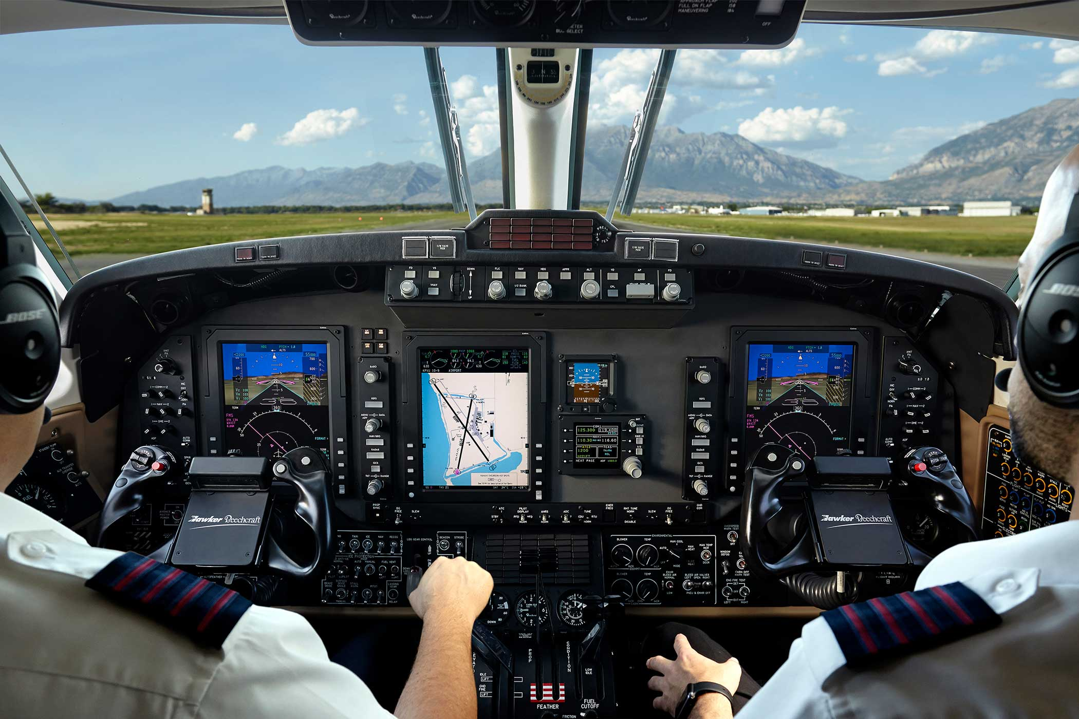 Rockwell Collins has announced that it is now offering three new upgrade  packages for Pro Line II-equipped Beechcraft King Air 350 twin turboprops.