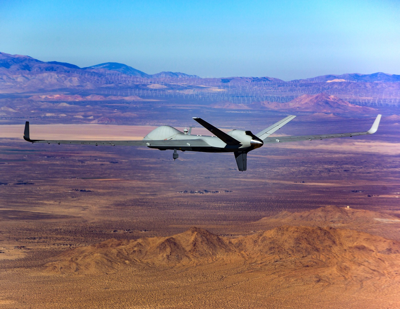 General Atomics Completes First Flight Of Certifiable Predator B Chinese Honda Clone Engine Wiring Diagram