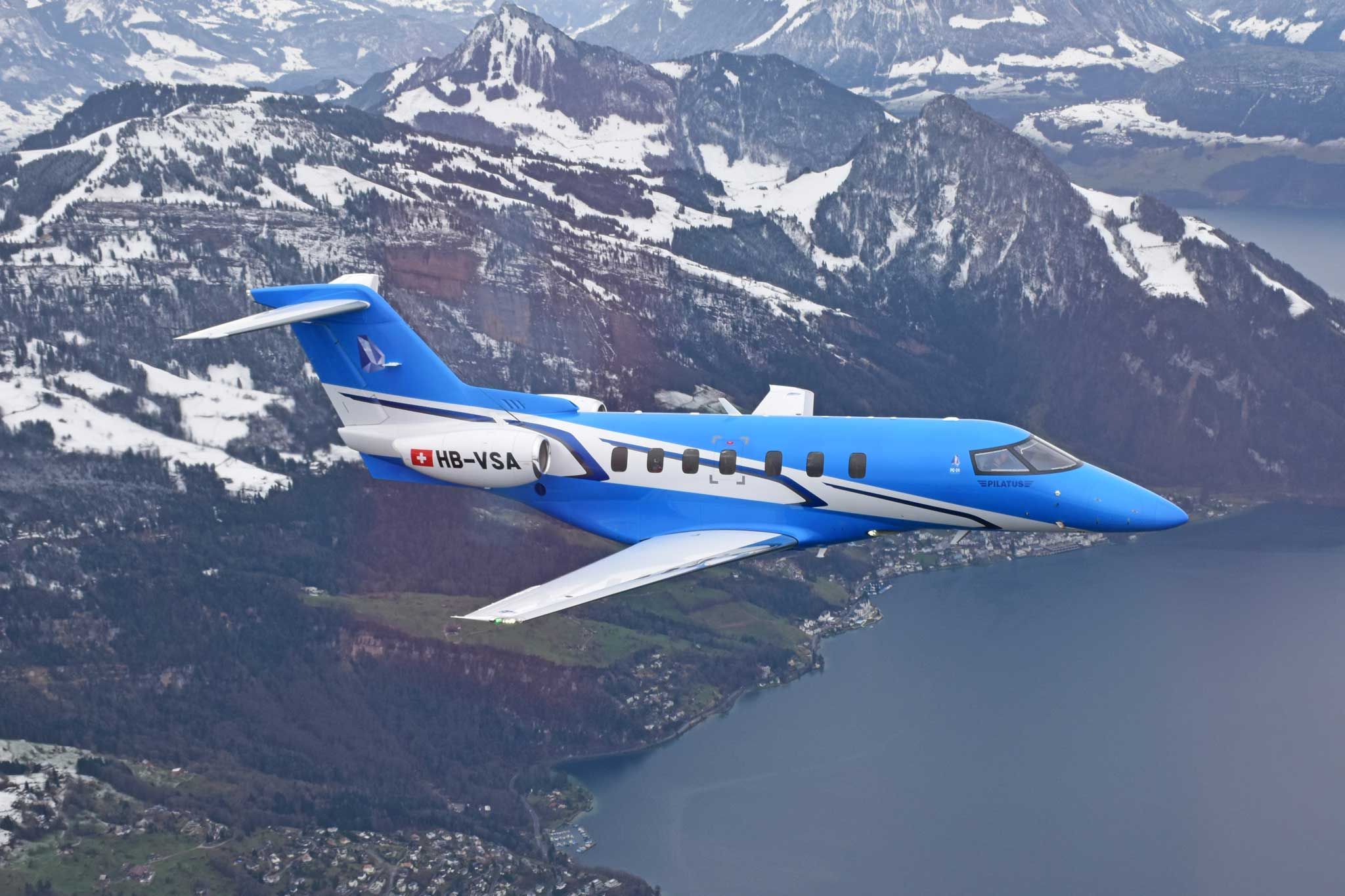 Third Pc 24 Prototype Makes First Flight Business