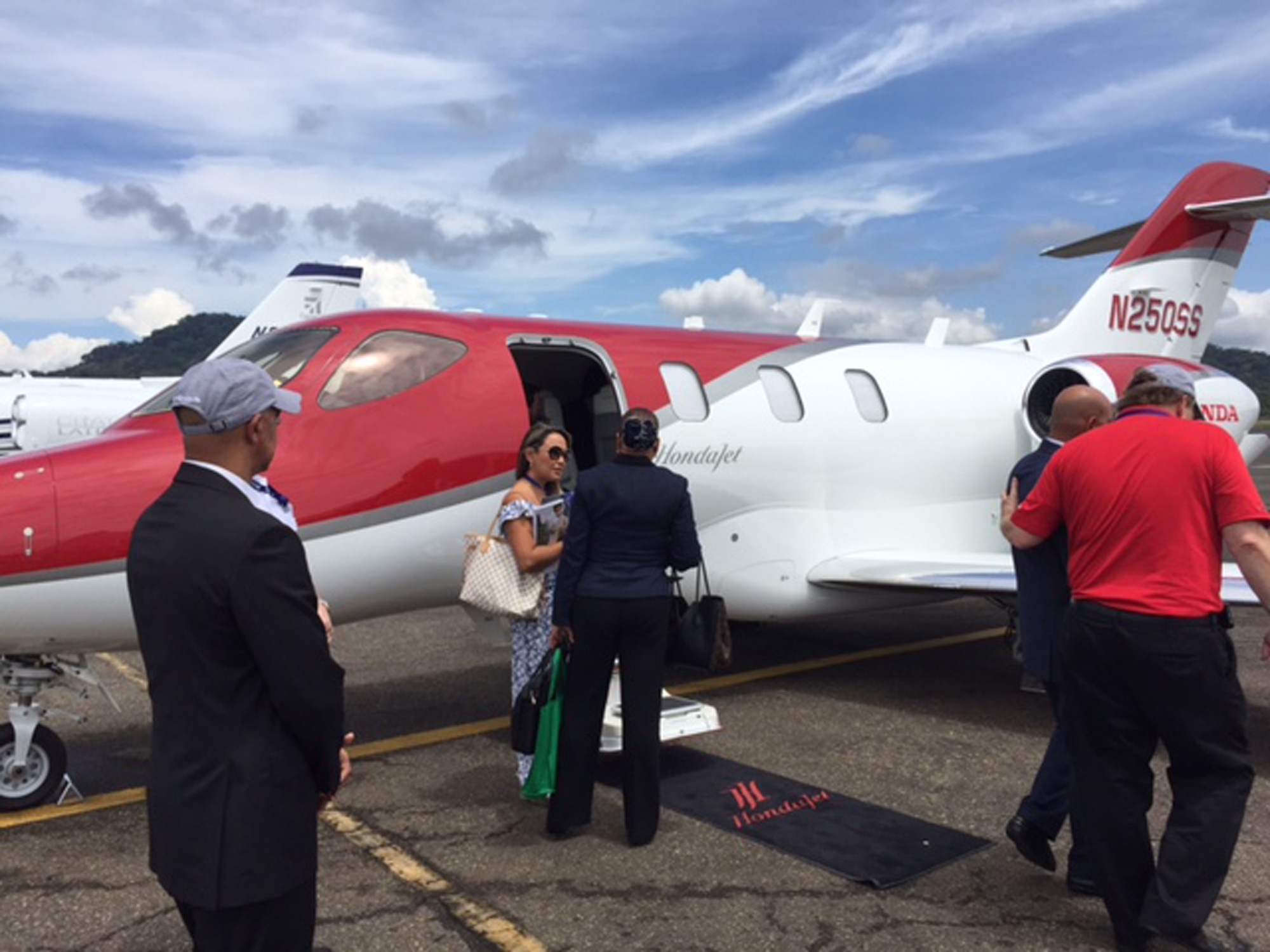 HondaJet Goes the Distance En Route to Panama Airshow | Business Aviation News: Aviation ...