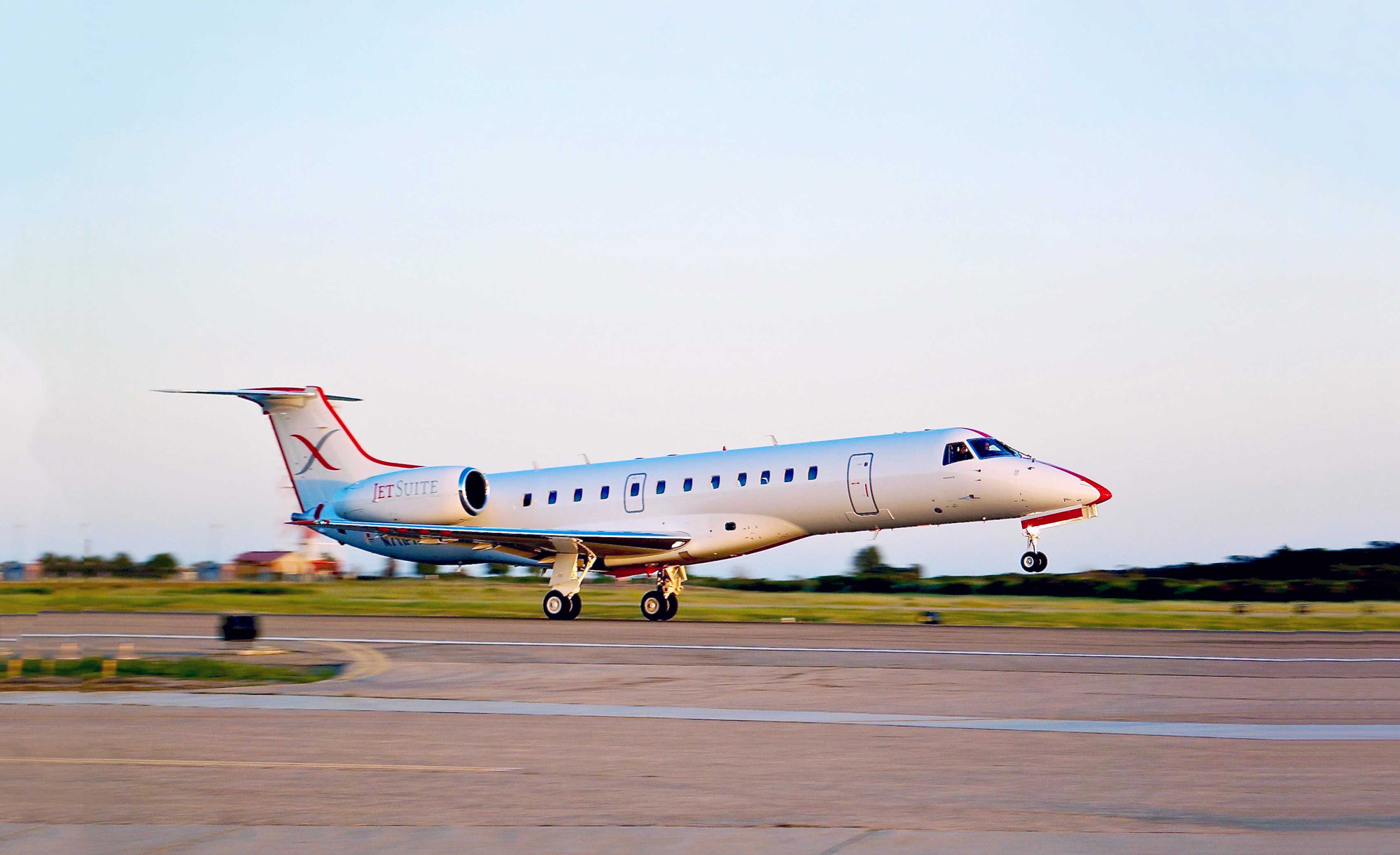 Charter operations in the U.S., such as this JetSuite X Embraer ERJ-135  shuttle flight in California, provided most of the lift for the increase in  North ...