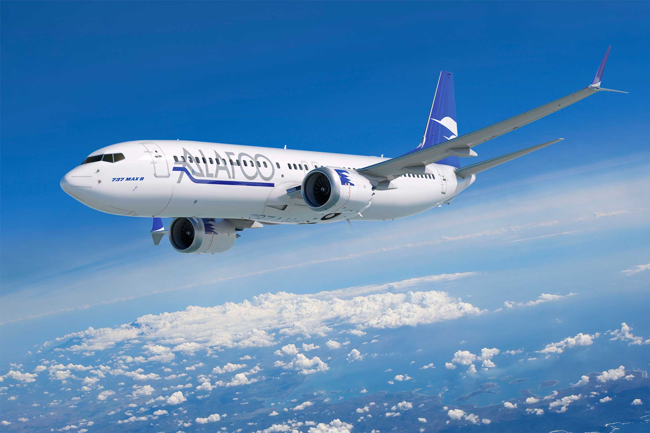 """Image result for aircraft leasing company """"ALAFCO"""" boeing 737 max"""