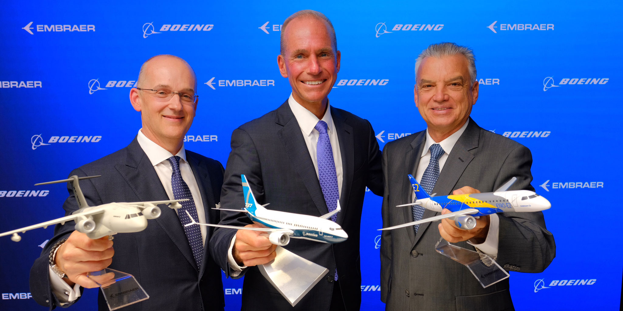 Boeing Embraer Talk Benefits Of Combination Air