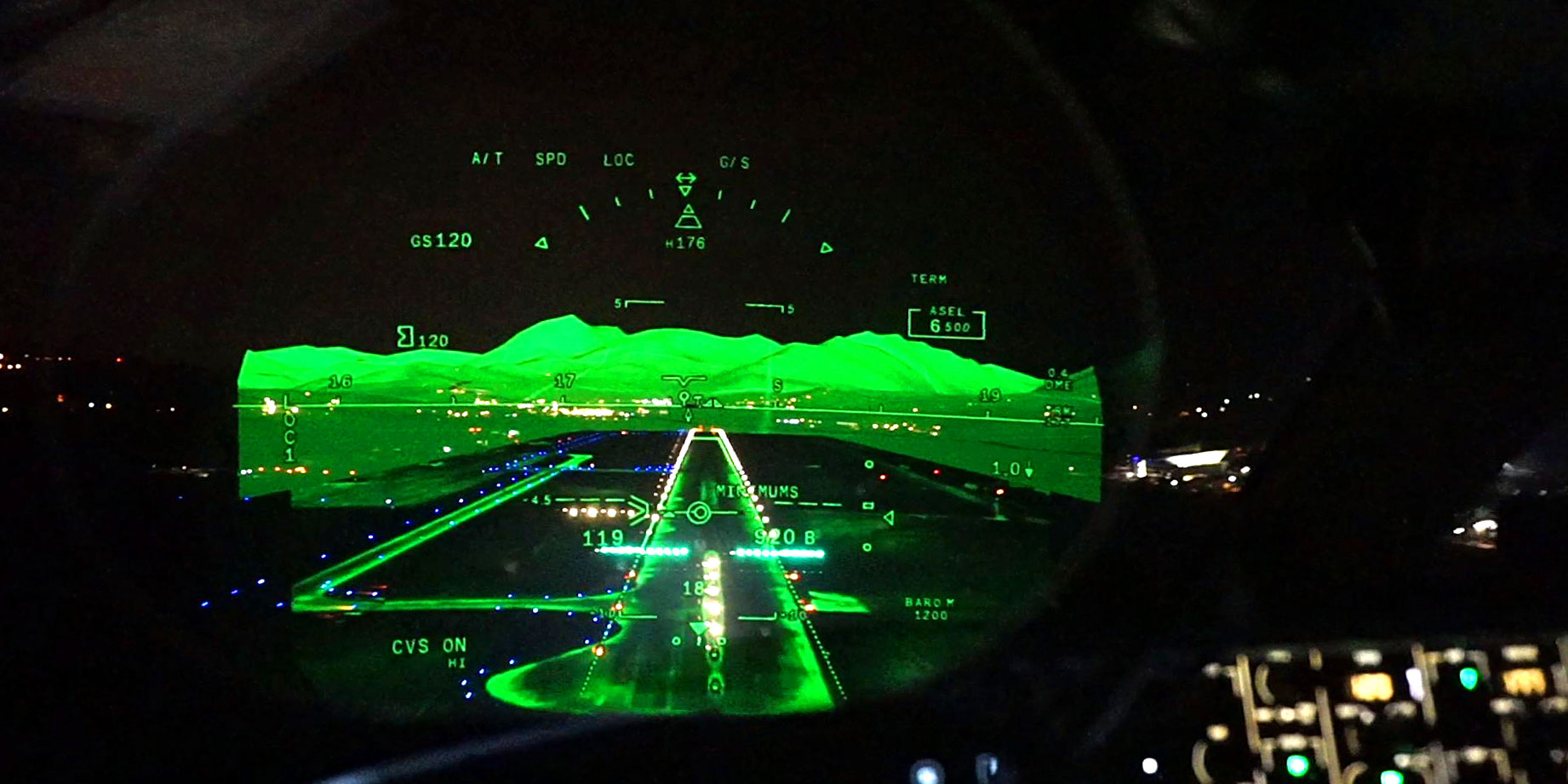 Flying Dassault's FalconEye Combined Vision System