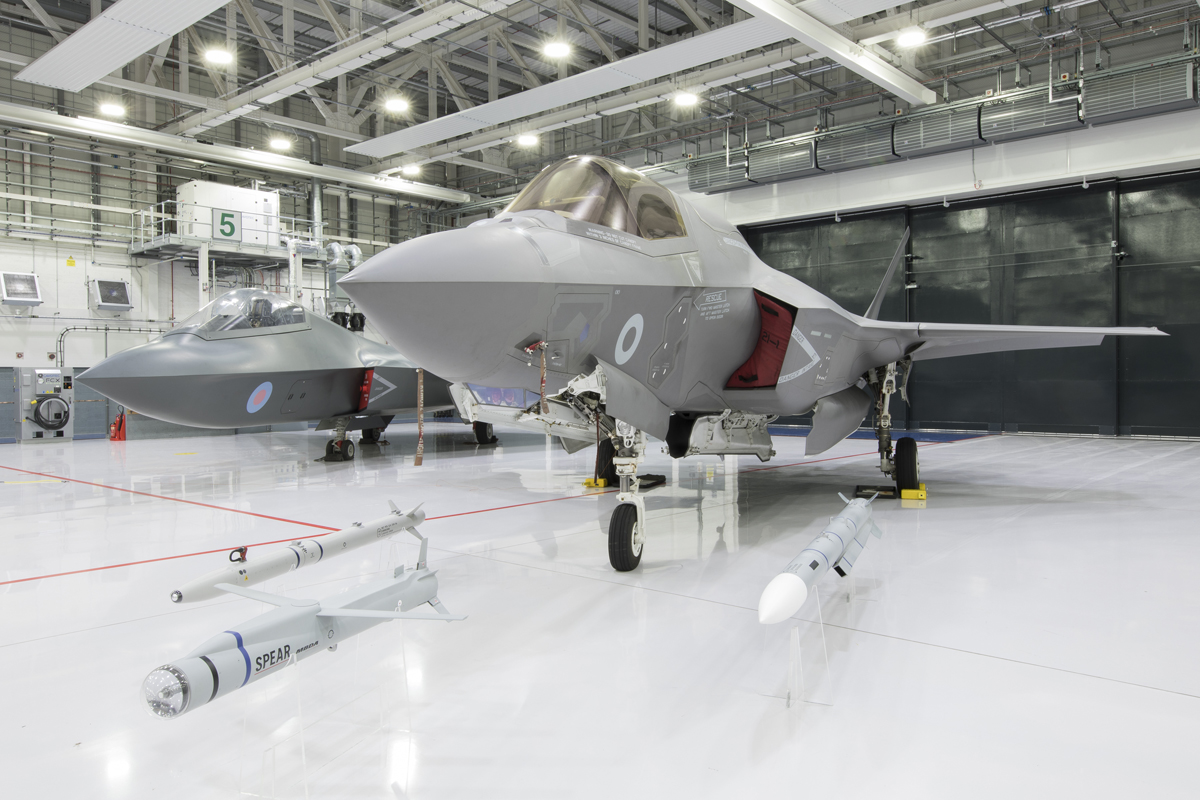 UK F-35B and Centurion Typhoon are Combat-Ready | Defense
