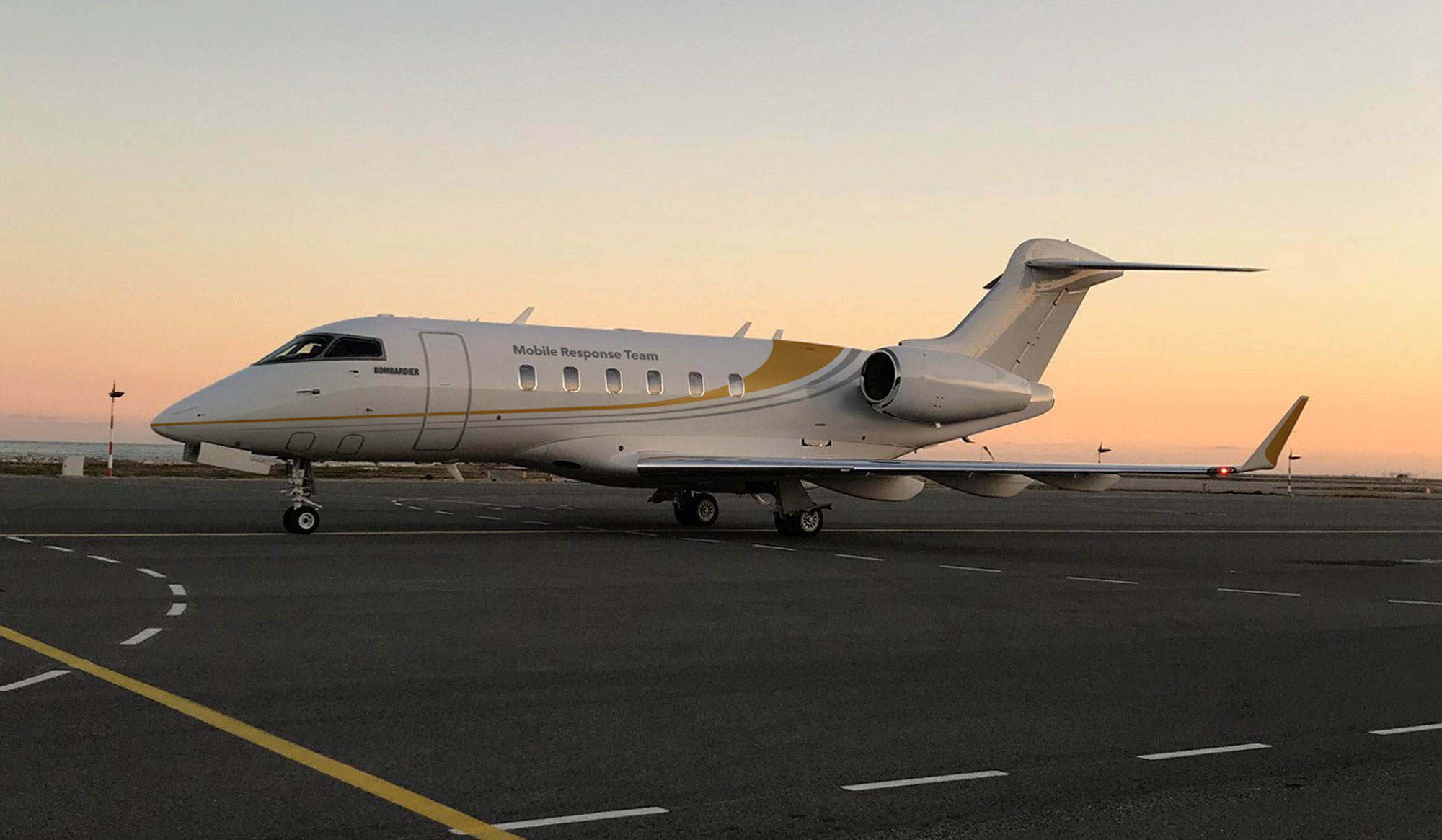 Bombardier Launches Mobile Response Jet In Europe Business