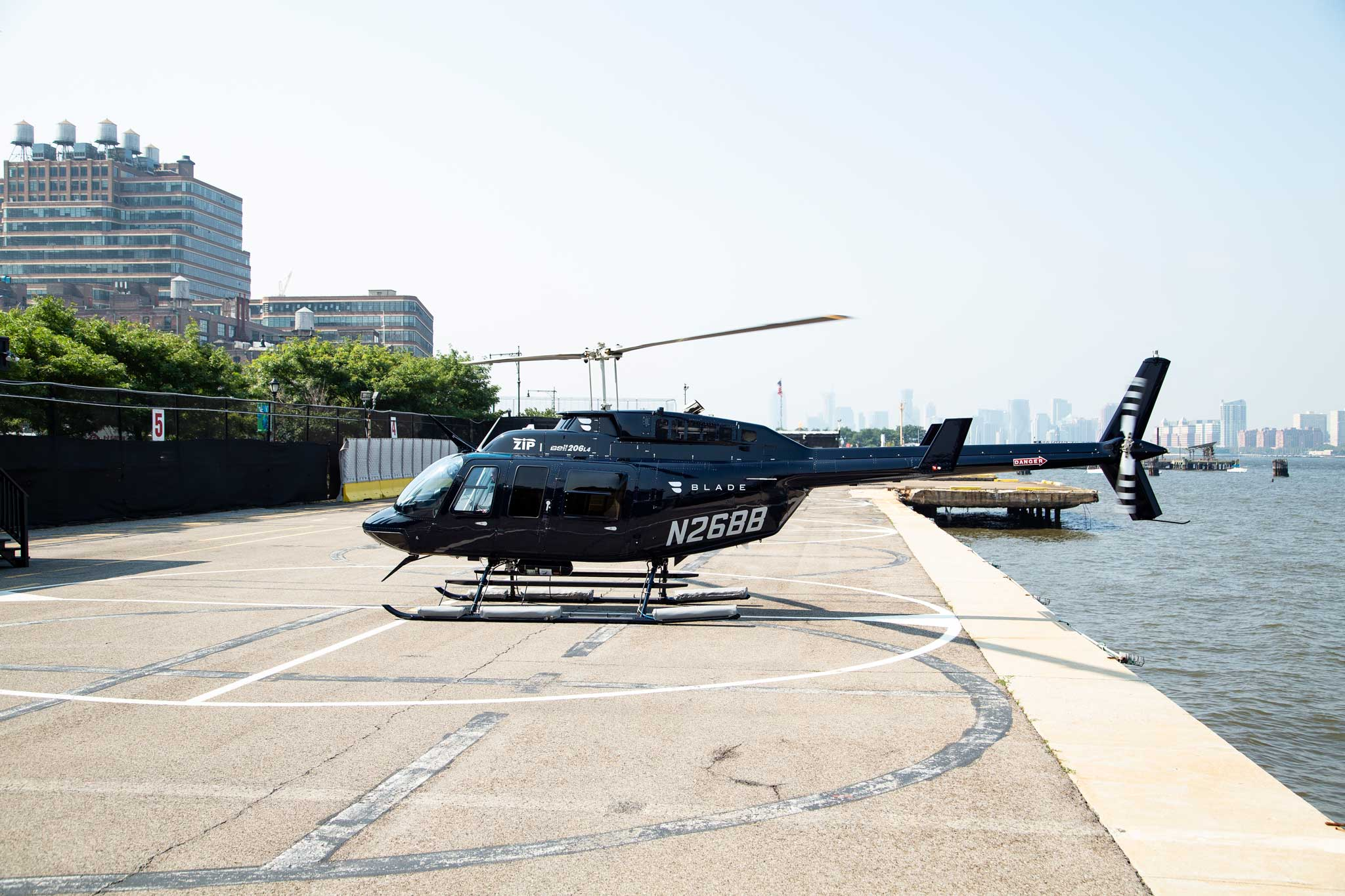 Blade Launches Continuous Helicopter Shuttle at JFK