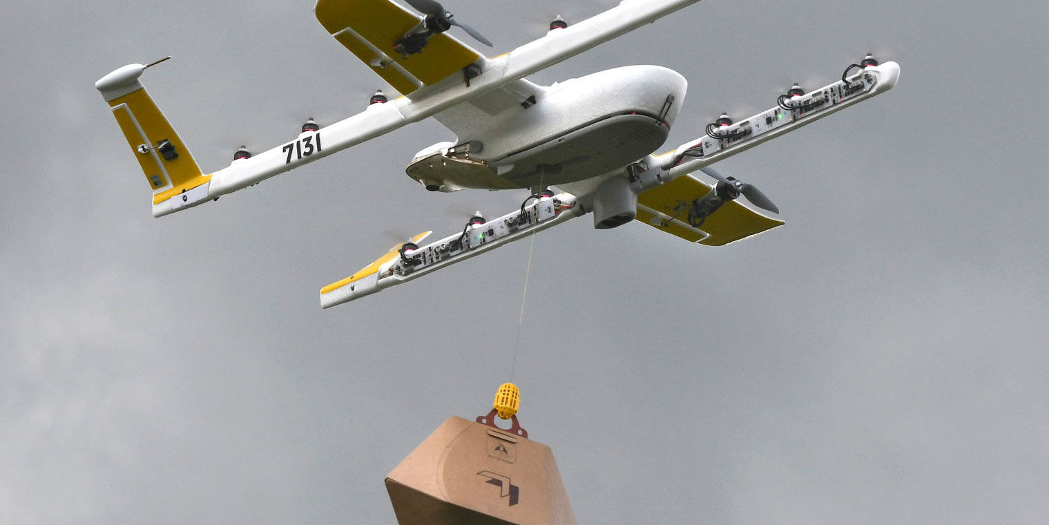 Drone To Home Delivery Service Begins In Australia