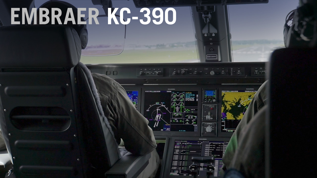 Takeoff from the Cockpit of an Embraer KC-390