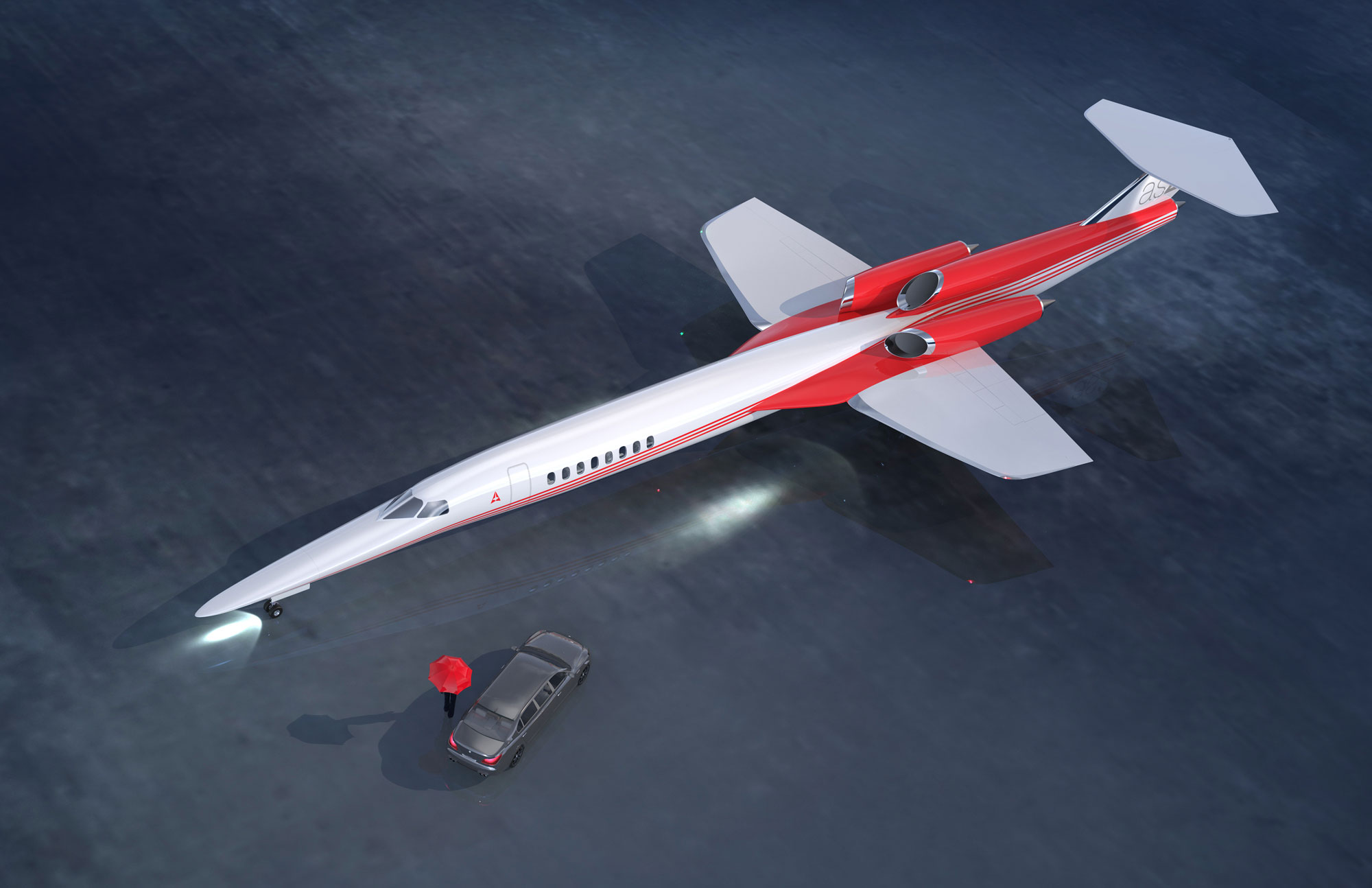 New Supersonic Age In Flight Coming Says Aerion Chief