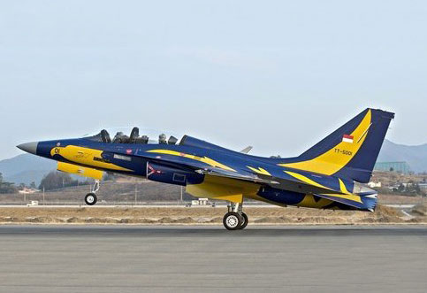 T-50 Golden Eagle TNI AU