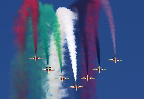 Al Fursan, the UAE's Flying Display Team