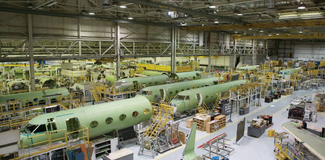 G450/550 Production Cut as Gulfstream Moves to G500/600