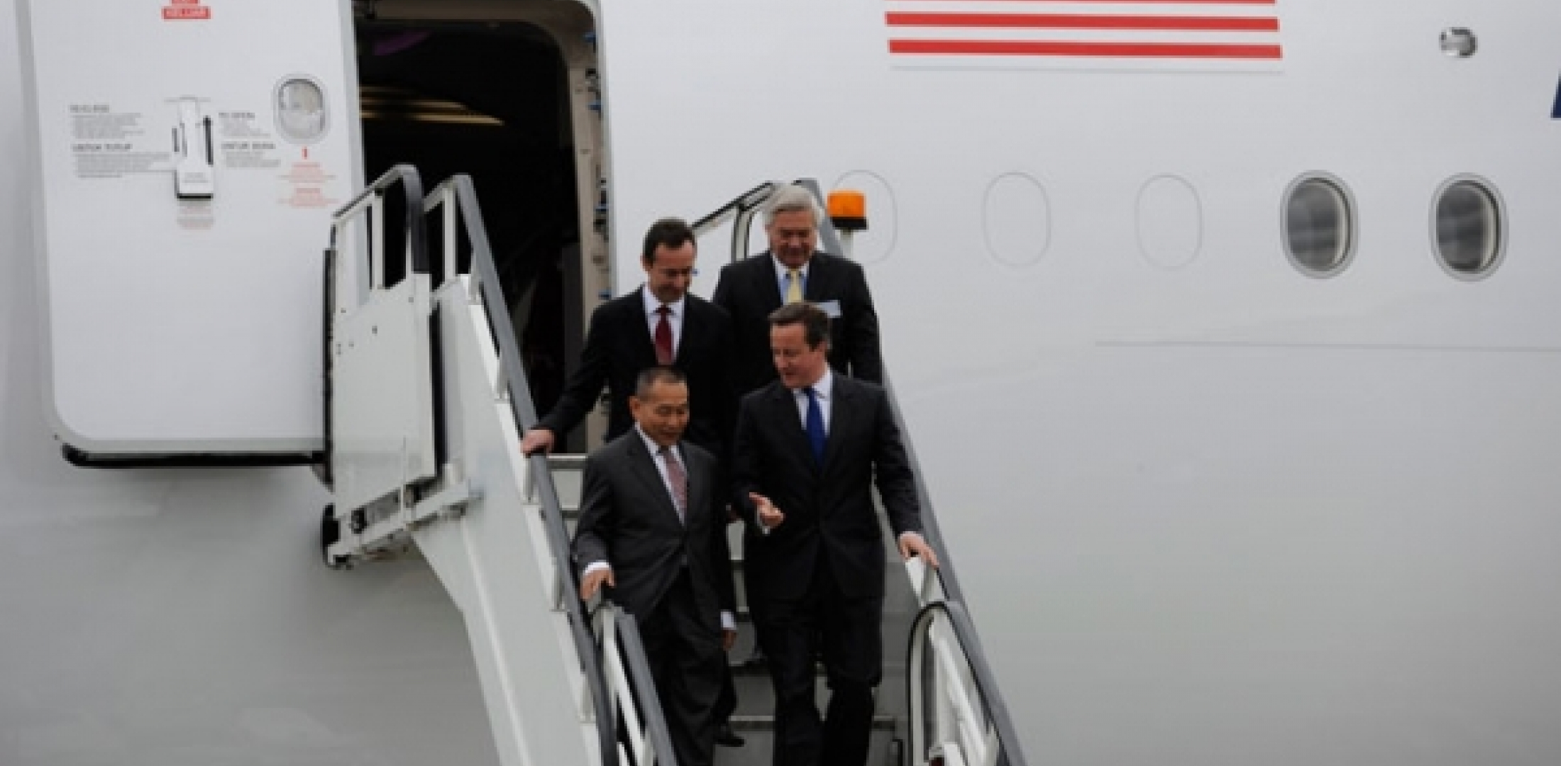 Prime Minister David Cameron at 2012 Airshow