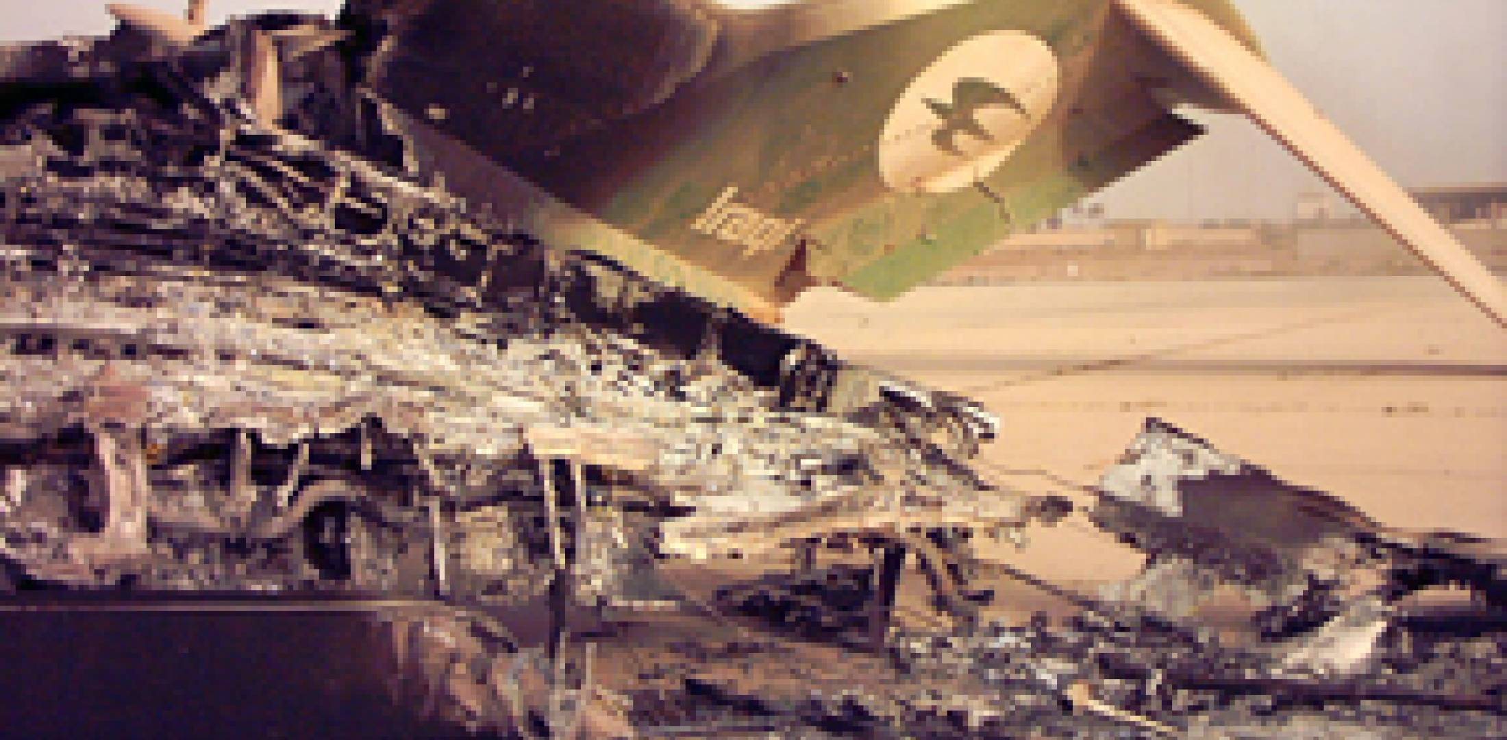 Iraqi Airways aircraft were destroyed during the second Gulf War in 2003, but...