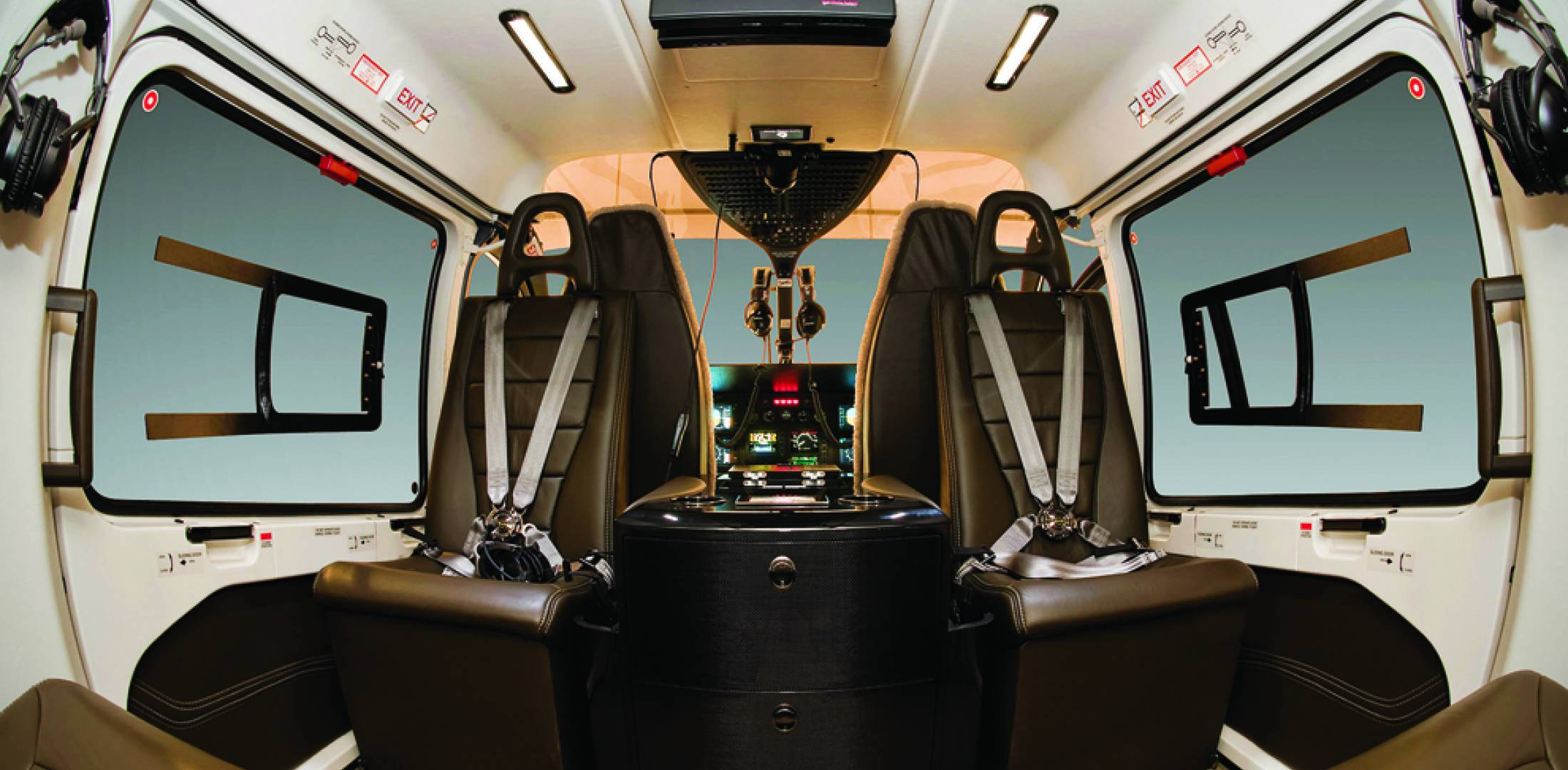 Eurcopter new cabin designs