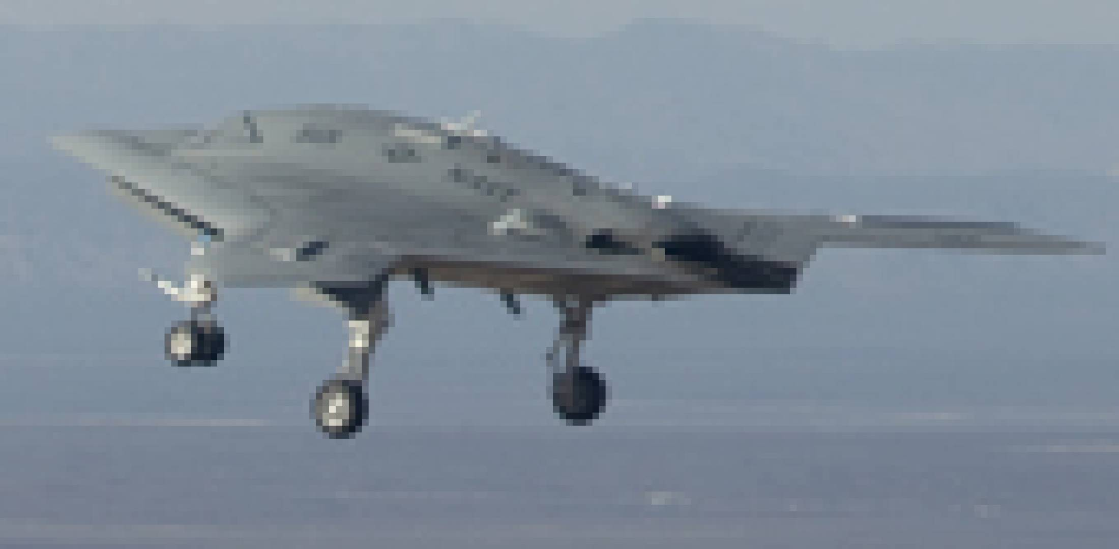 Northrop Grummnaπs X-47B demonstrator made its first flight on February 4....
