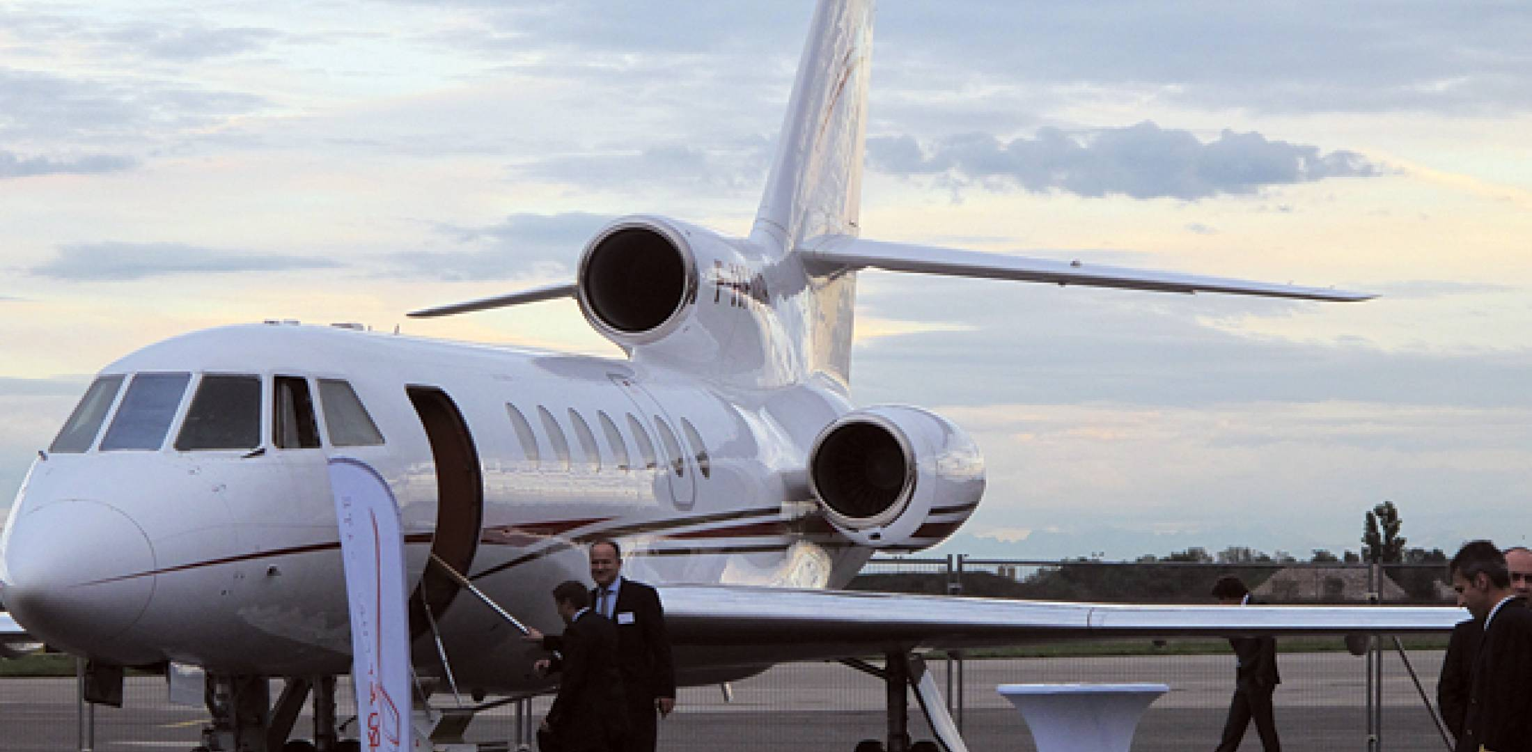 Lyon Bron airport hosted an educational event last fall to show local company executives the value of business aviation.