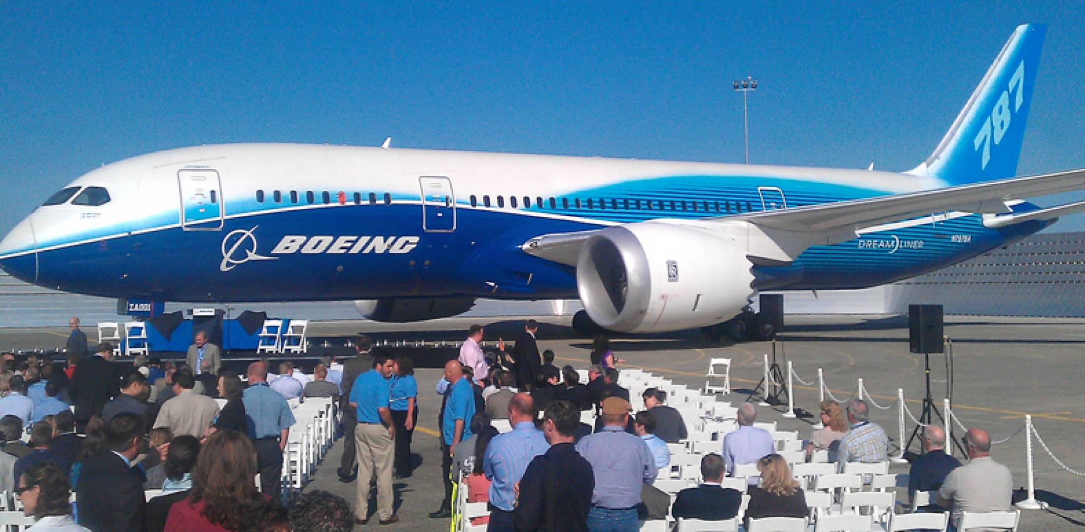 At a ceremony at Paine Field in Everett, Wash., today, Boeing announced that