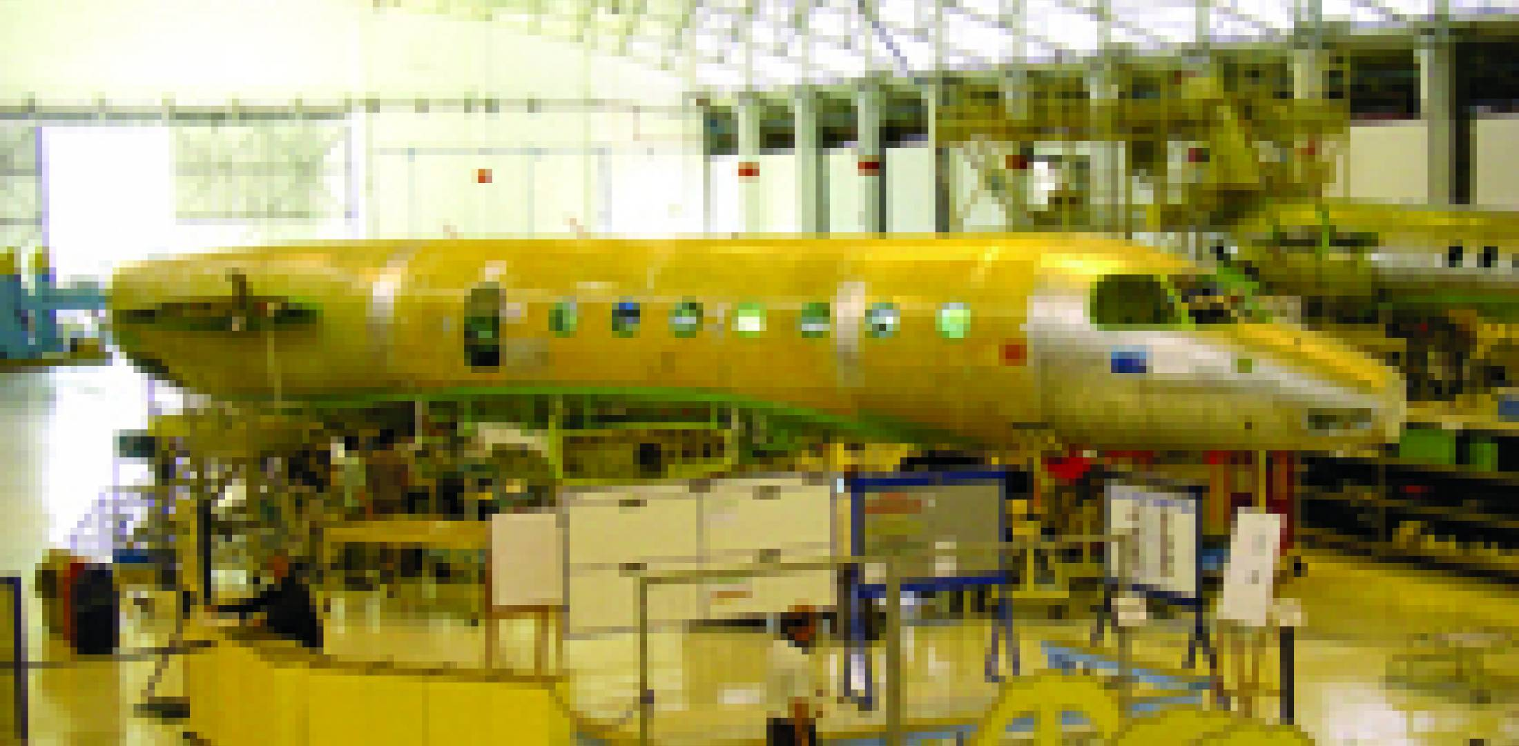 Embraer's Legacy 500 prototype is scheduled for wing mate soon. (Photo: Curt