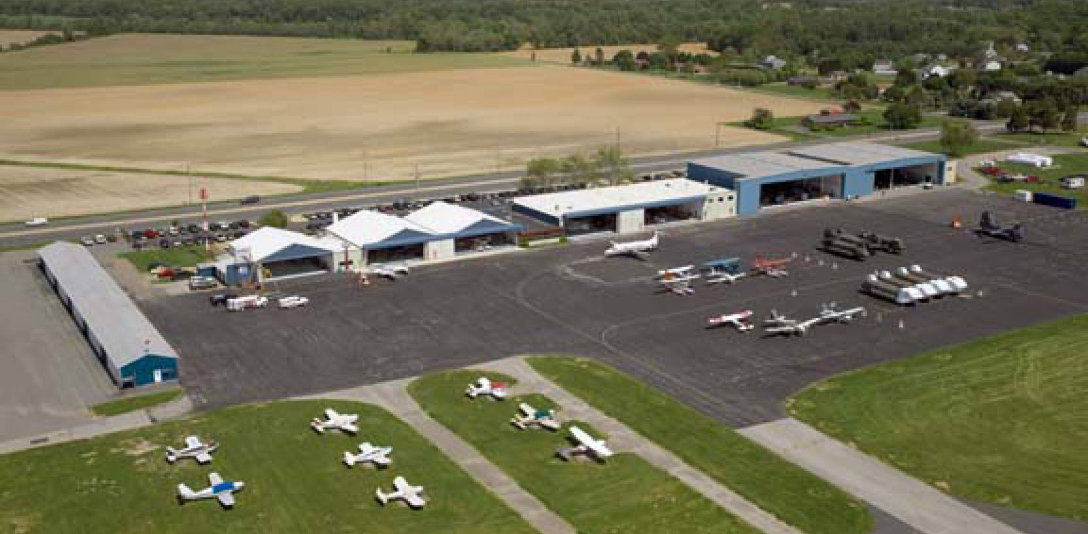 Summit Aivation's 78,000-sq-ft expansion project includes a new hangar, paint