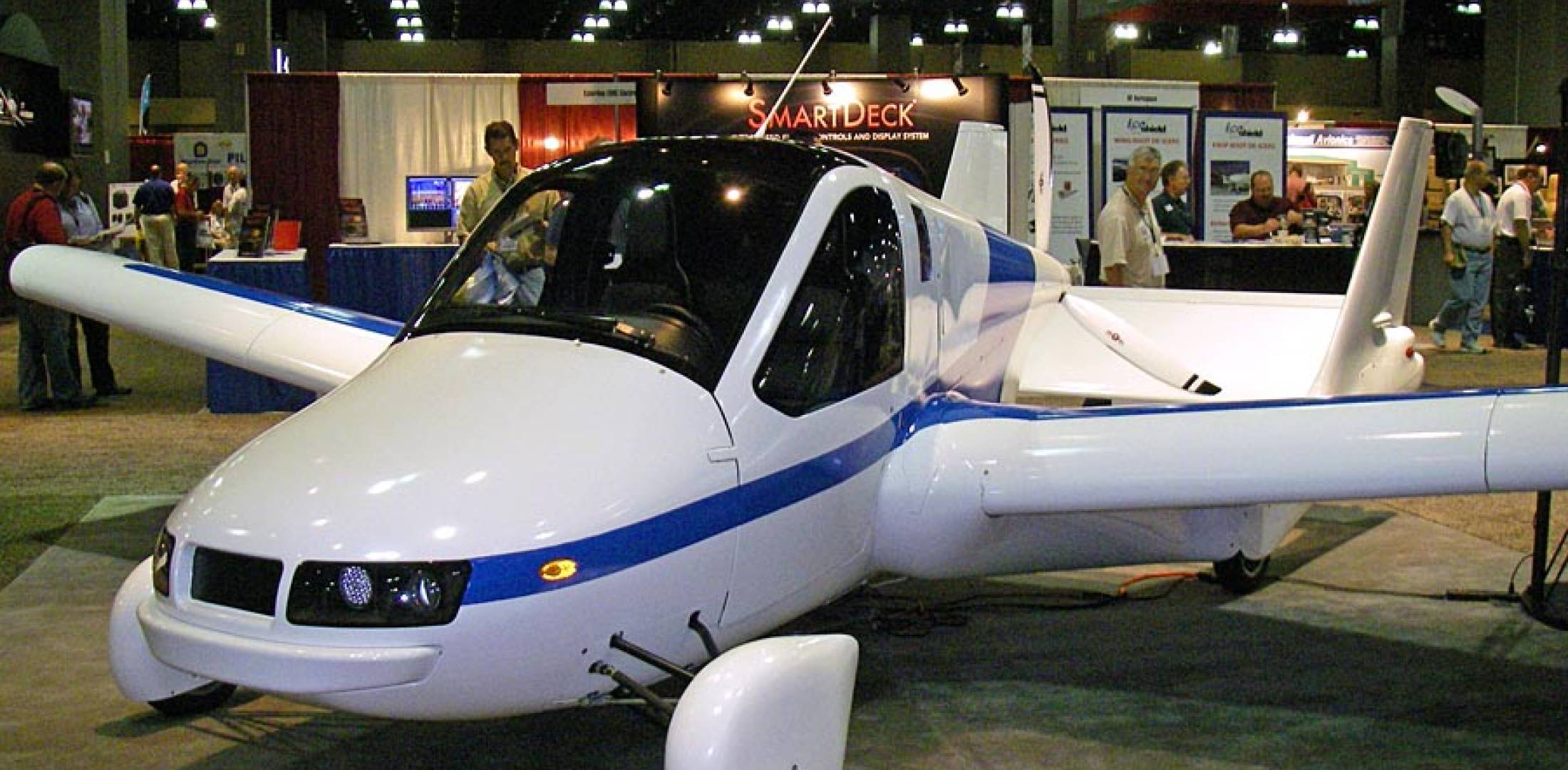 Terrafugia expects to certify its Transition as an LSA and as a car.