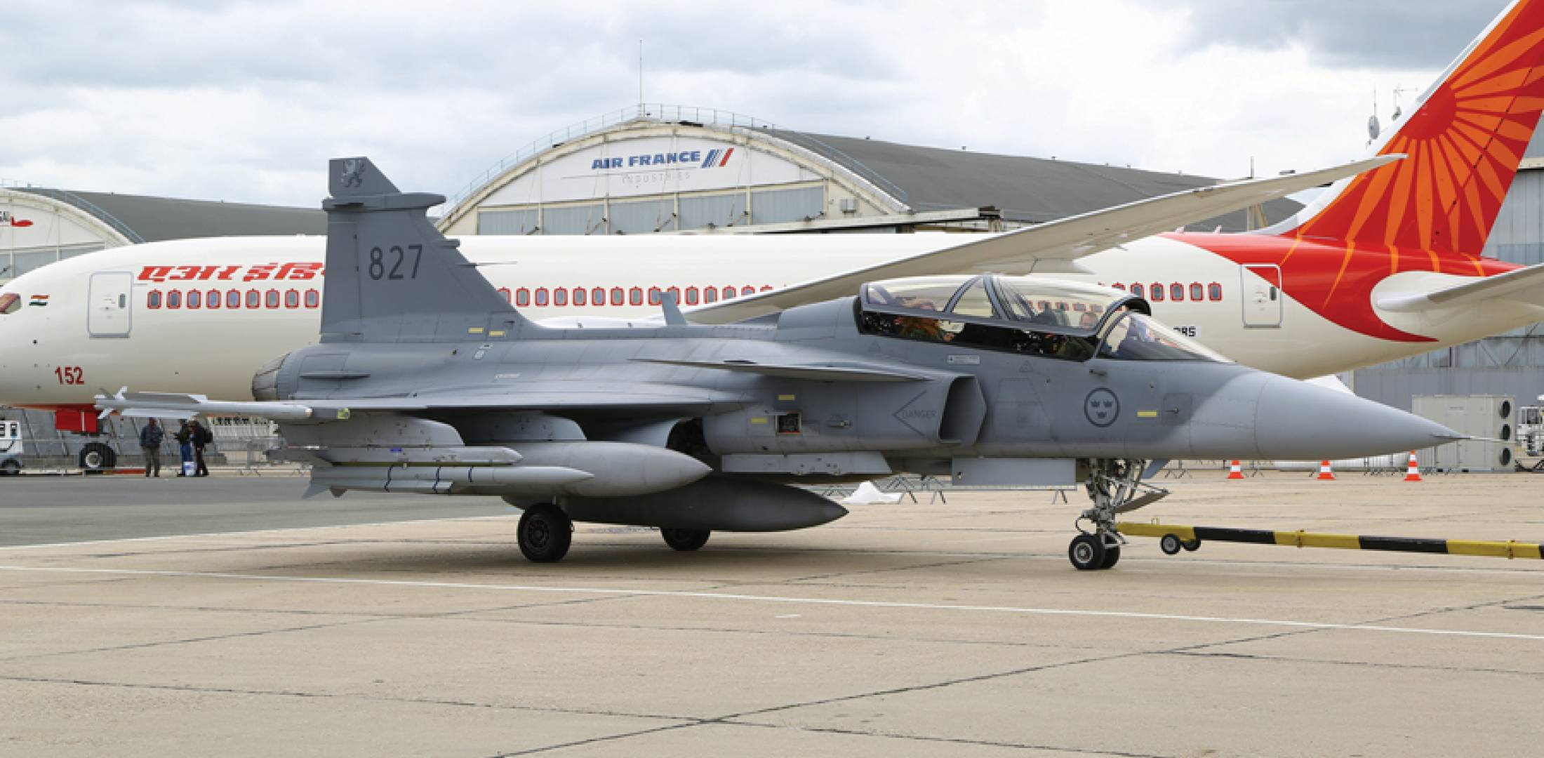 Gripen F trials aircraft 39-7